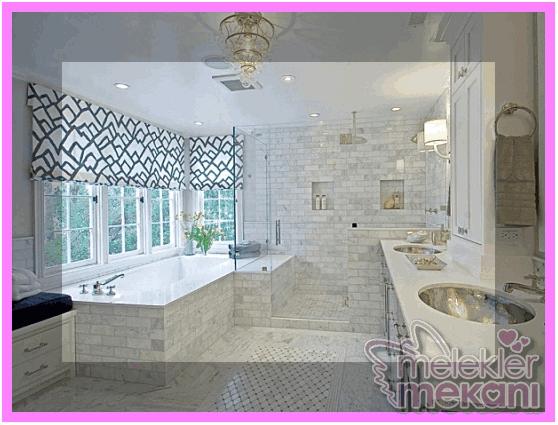 Banyo dekorasyuna bir örnek