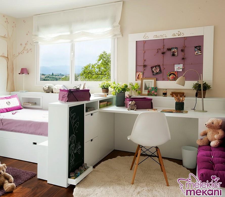 Çocuk odası mobilya tercihlerinizi en fonksiyonel olanlardan yana kullanabilirsiniz.