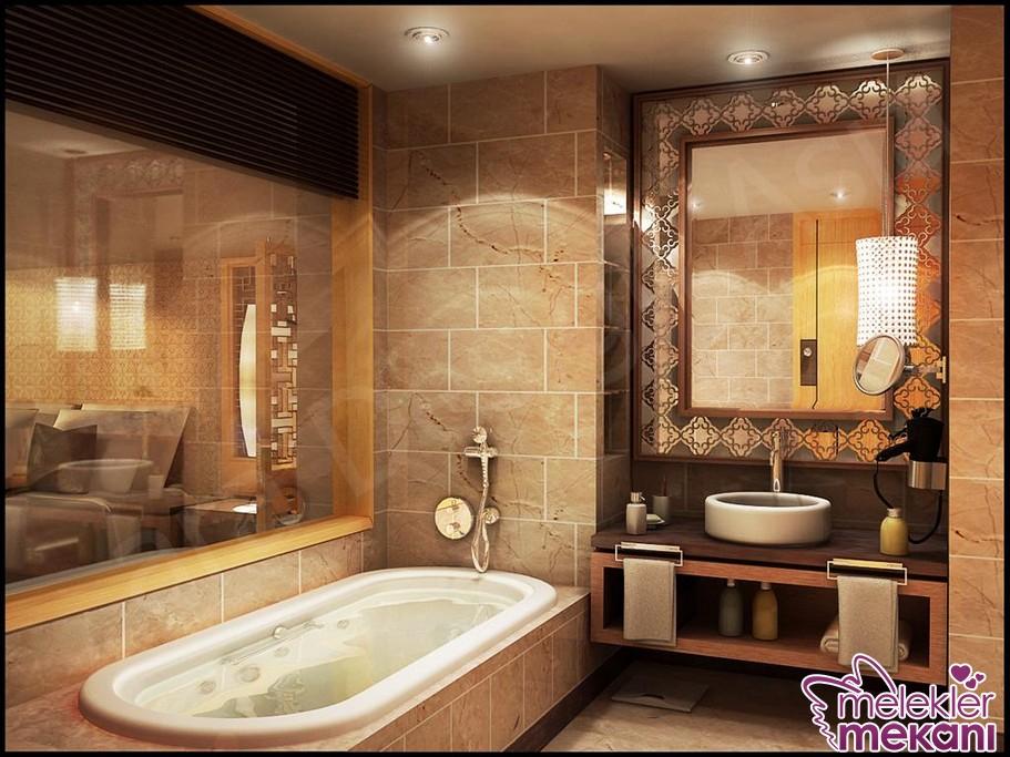 Banyo dekorasyon 2016 senesi için değişiminizi büyük banyo aynası seçiminde bulunarak tamamlayabilirsiniz.