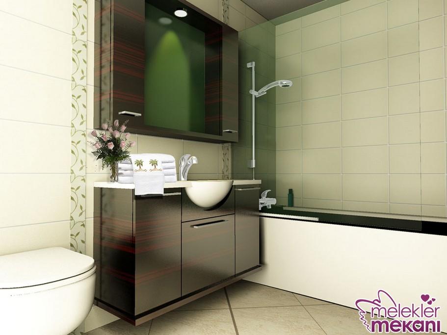 Banyo dekorasyonunuzda modern banyo dolapları ile dekorasyonunuzu canlandırabilirsiniz.