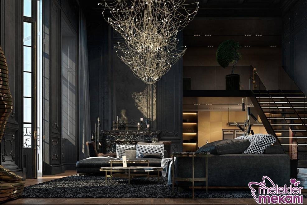 Farklı tasarım aydınlanma modelleri ile oda görünümlerine dekoratiflik kazandırabilirsiniz.