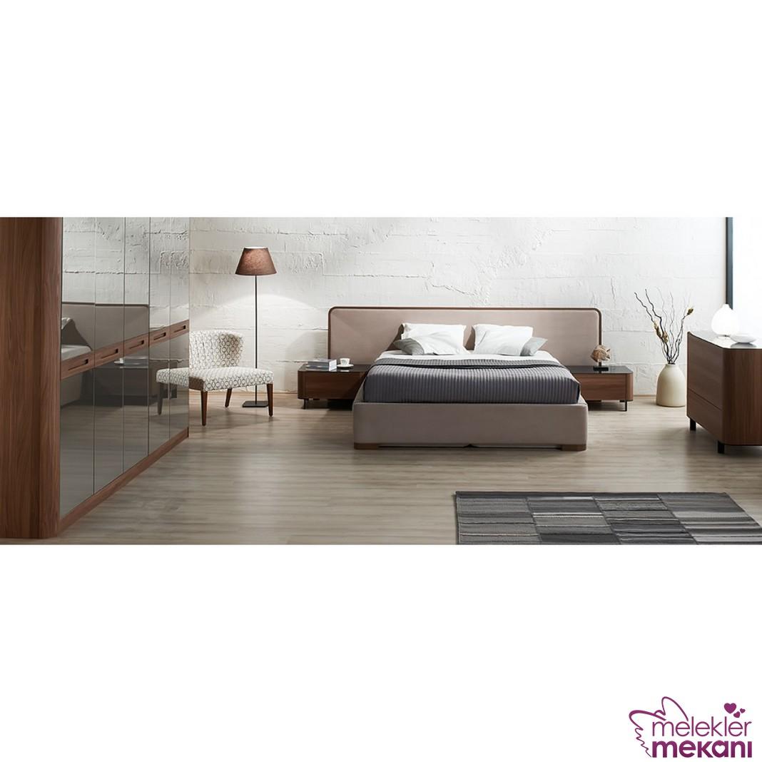 Kelebek Mobilya capulus yatak odası takımı ile estetiğe davetiye çıkarabilirsiniz.