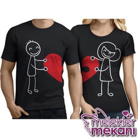 Sevgiliniz için farklı sevgili tişörtü hediye edebilirsiniz