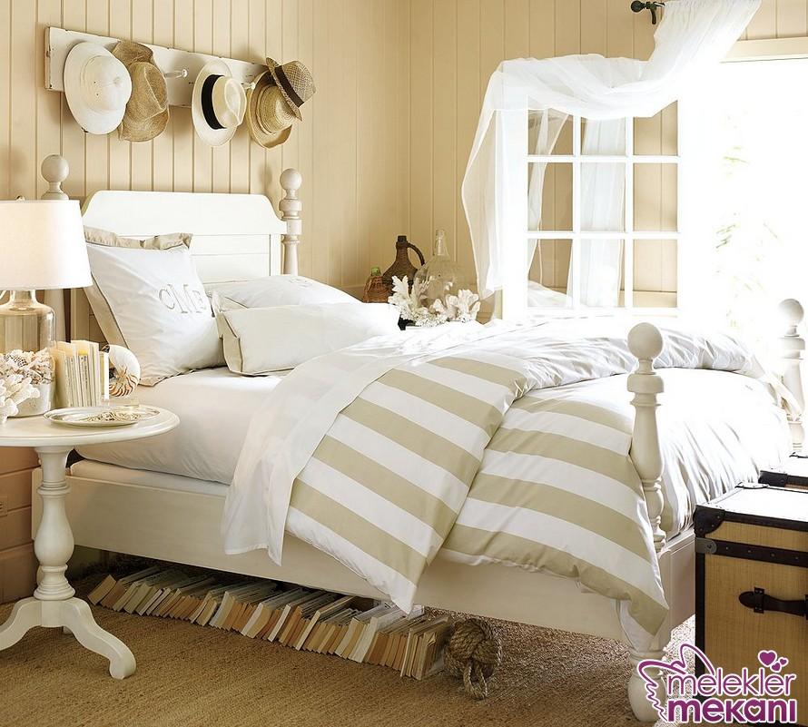 Dar yatak odası dekorasyon fikirleri arasında yer alan fonksiyonel fikirlerden faydalanabilirsiniz.
