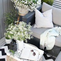 Balkon dekorasyonunda estetik çözümler ve fonksiyonel ürün kullanımları