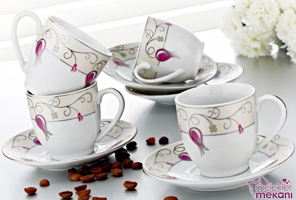 Kütahya Porselen 2016 kahve fincanı takımları ile asil misafirlerinize ikramda bulunabilirsiniz.