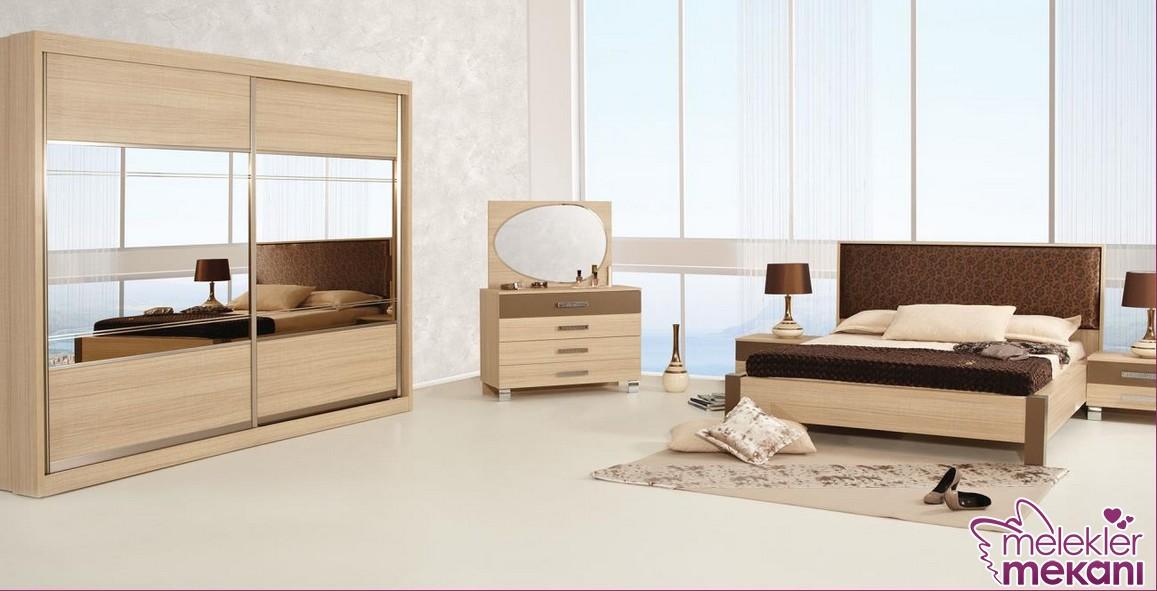 En trend Rapsodi marta yatak odası takımı seçimi ile klasik bir yatak odası dekore etme fırsatınız olacak.