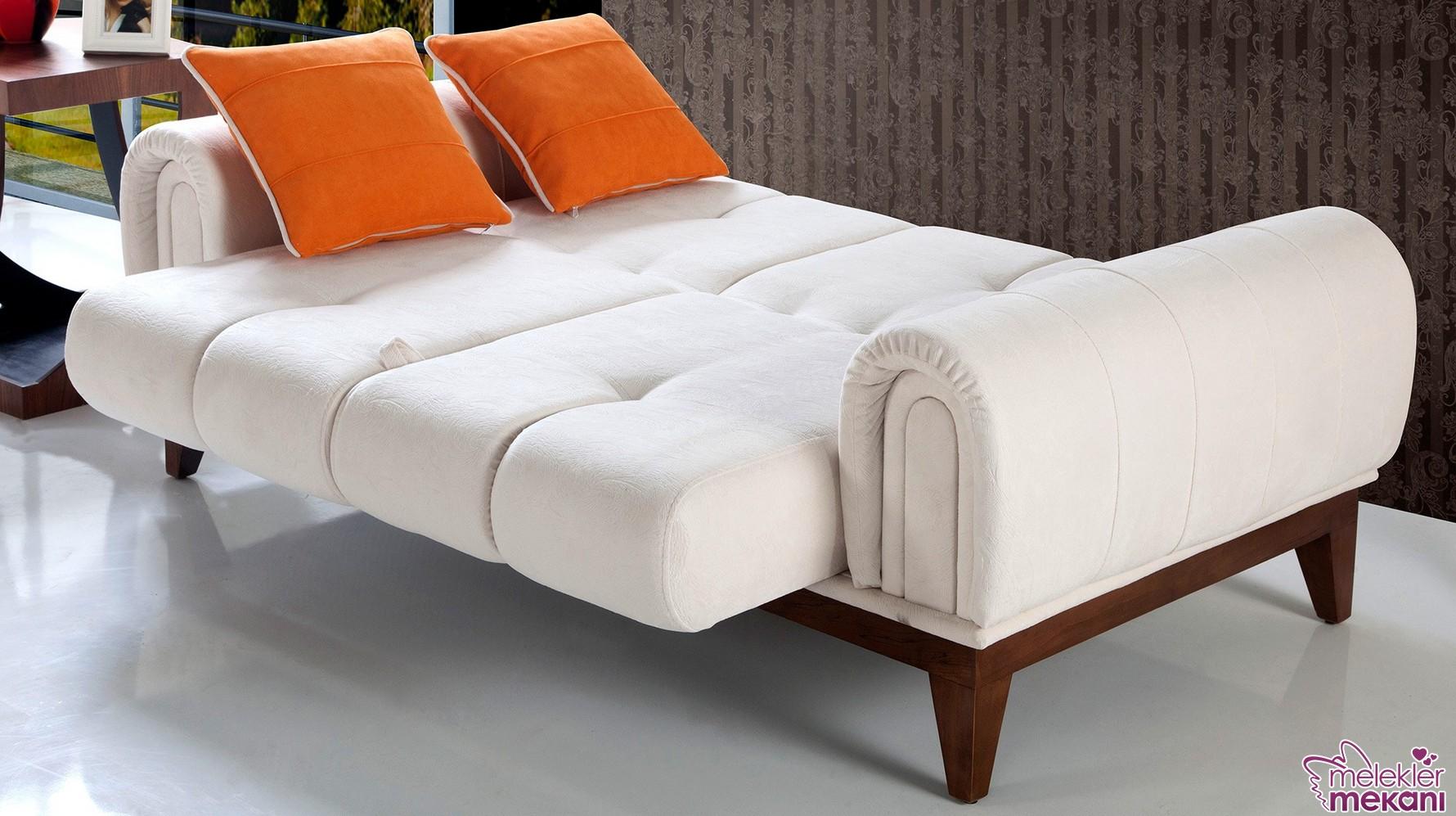 Yeni trend yataklı kanepe modelleri ile yatak keyiflerinizi daha dekoratif hale getirebilirsiniz.