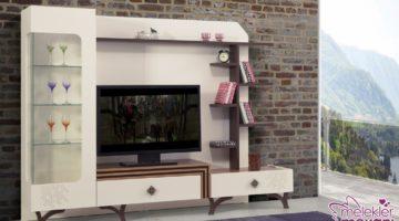 Modern tv ünitesi tasarımları ile oturma odalarınız şenlensin