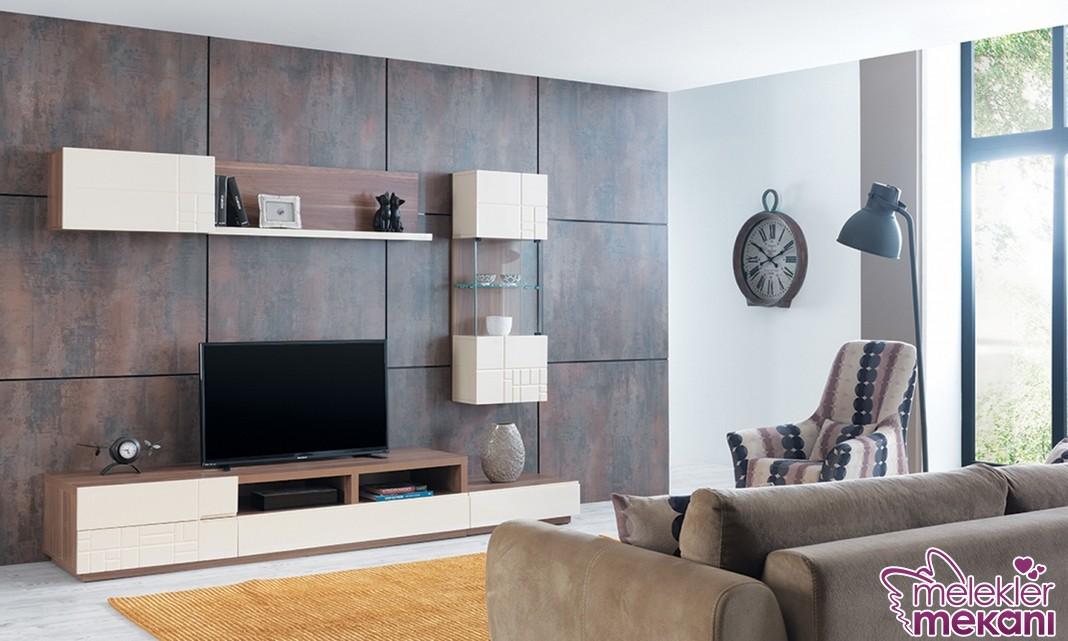 Dream modern tv ünitesi modelleri ile modern oda dekoratiflikleri elde edebilirsiniz.