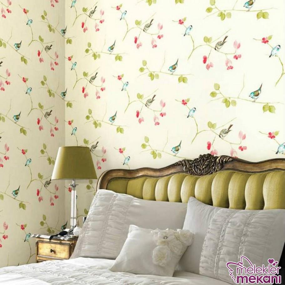 2016 Laura ashley duvar kağıdı seçimi ile renkli duvarlar yatak odanızda hakimiyetini sürebilir.