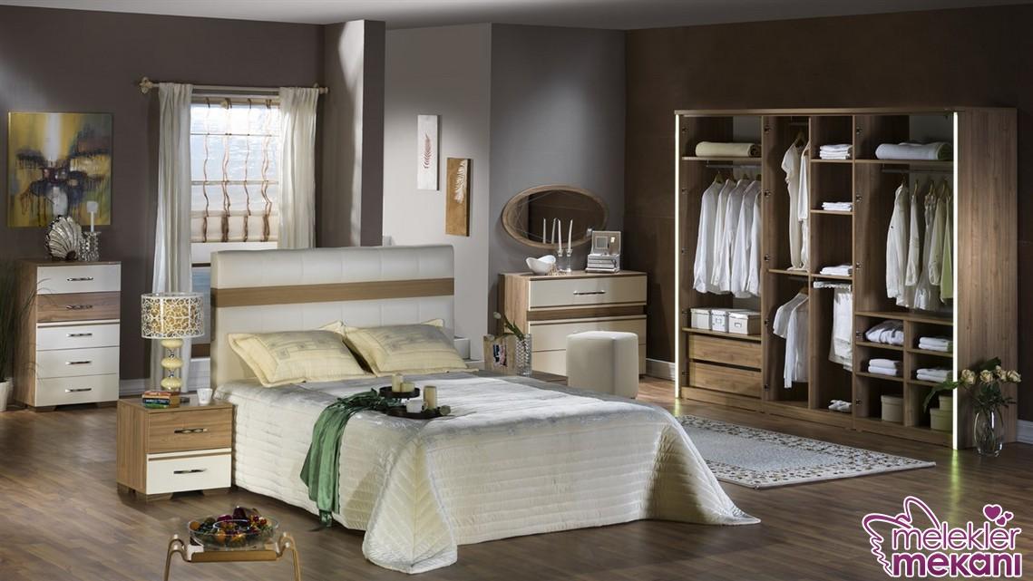 Enza Home davis yeni yatak odası takımı ile estetik bir görünüm yakalayabilirsiniz.