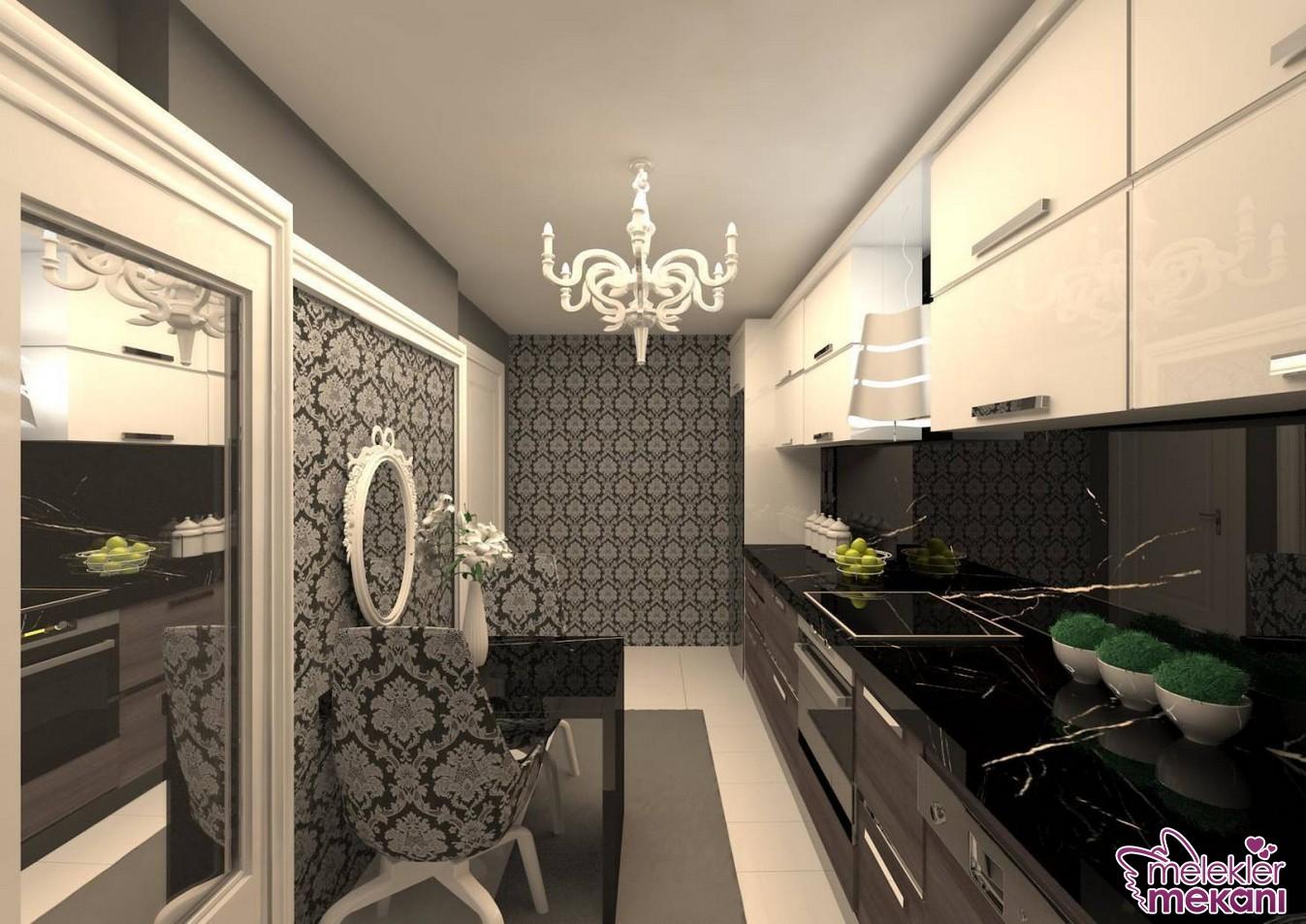 3059-damask-desenler-mutfaginiza-geldi-jpg.79899 Mutfak duvar kağıdı dekorasyonun da son trendler Melekler Mekanı Forum