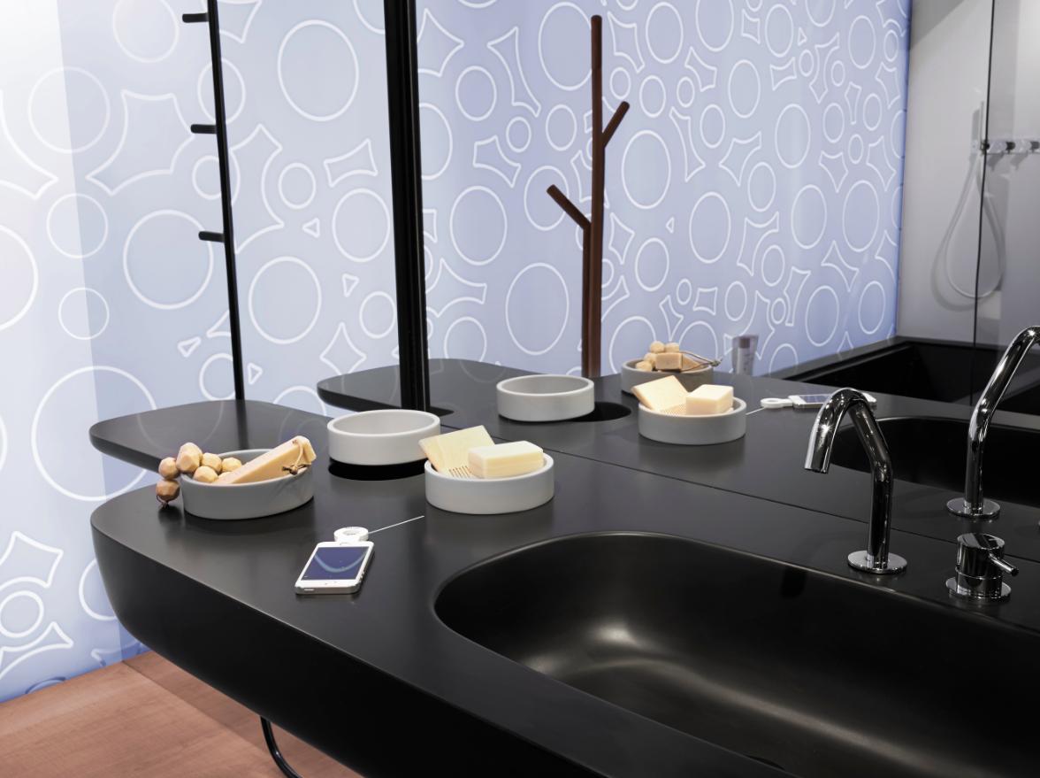 corian-krea-granit-png.69062 Corian lavabo modelleri ile estetik görünümlü banyo modelleri Melekler Mekanı Forum