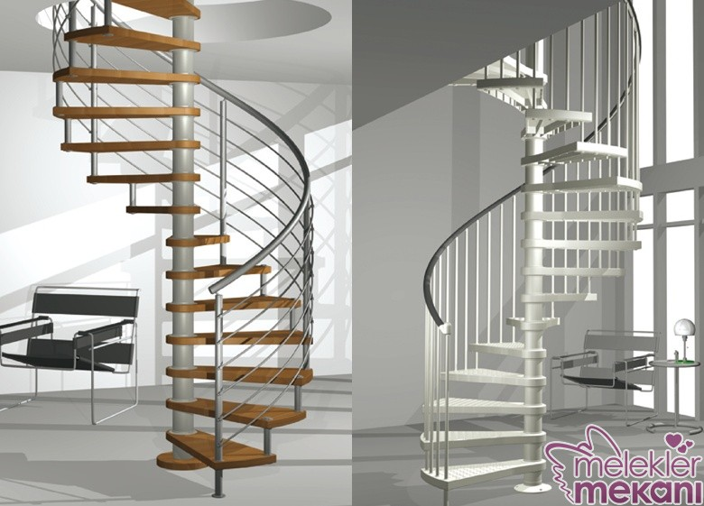 doner-merdiven-modelleri-jpg.83743 Modern merdiven modelleri asma merdiven tasarımları Melekler Mekanı Forum