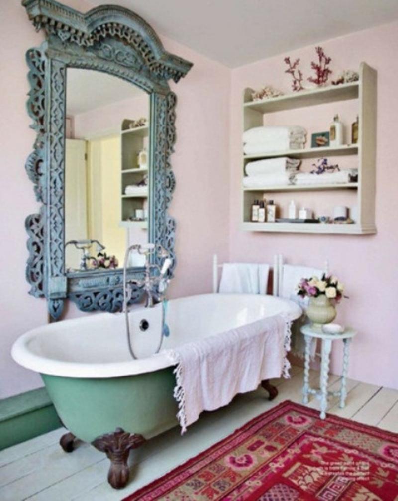 good-rustic-chic-bathroom-decor-63-in-with-rustic-chic-bathroom-decor-jpg.77846 Shabby Chic Banyo modelleriyle dekoratif görünümlü banyolar Melekler Mekanı Forum