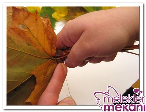 kuru-yapraklardan-cicek-yapimi12-jpg.82178 sararmış yapraklardan harika çiçek yapılışı Melekler Mekanı Forum