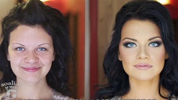 makyaj-5-jpg.61179 Makyajın Değiştirdiği İnsanlar Şok Edecek! Melekler Mekanı Forum
