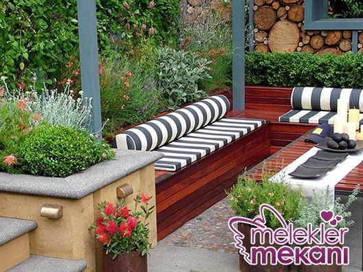 modern-bahce-dekorasyonu-jpg.75772 Bahçe için ilginç dekorasyon önerileri Melekler Mekanı Forum