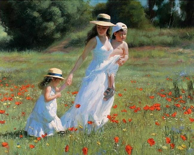yağlı boya anne çocuk tablo 1.jpg