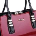 Siyah vişne matmazel çanta