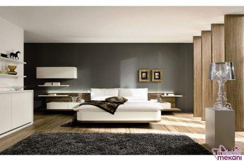 2016 modern yatak odası takımı modeli örneği