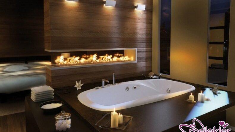 Ahşap banyo küvetleri ile banyonuza dekoratif zenginlik katabilirsiniz.