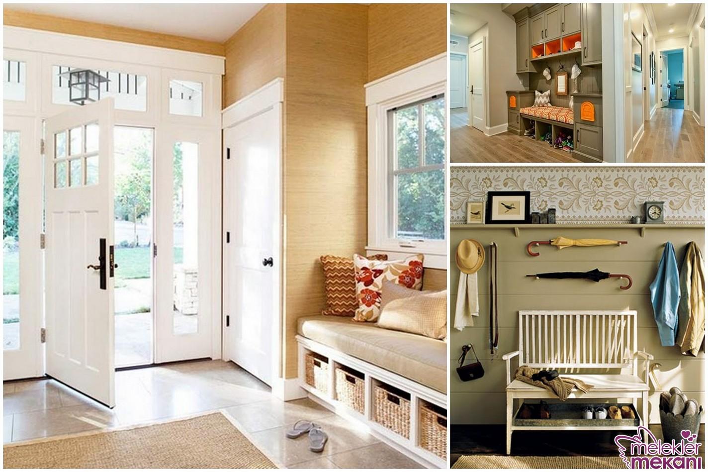 Antre dekorasyonlarınızda dinlenerek evden giriş çıkış yapabileceğiniz alan zenginliklerini elde edebilirsiniz.