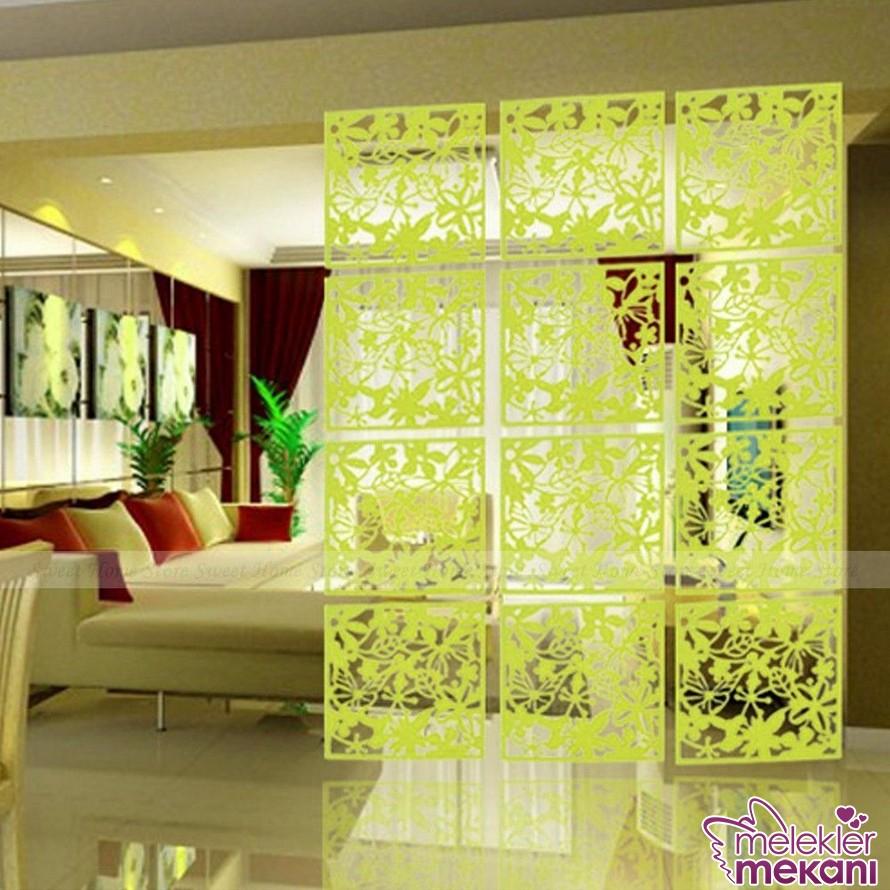 Ara bölücü panellerle geniş odalarınızı farklı yaşam alanlarına çevirebilirsiniz.