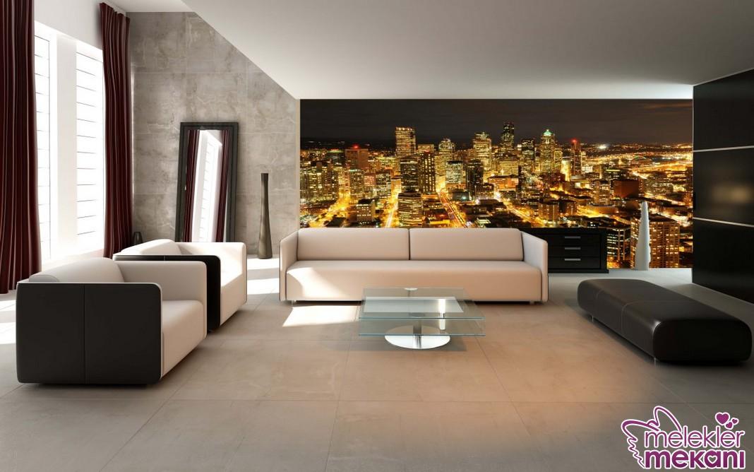 Duvar dekorasyon değişimlerinizde yeni trend uygulama tercihlerinde bulunmaya ne dersiniz?