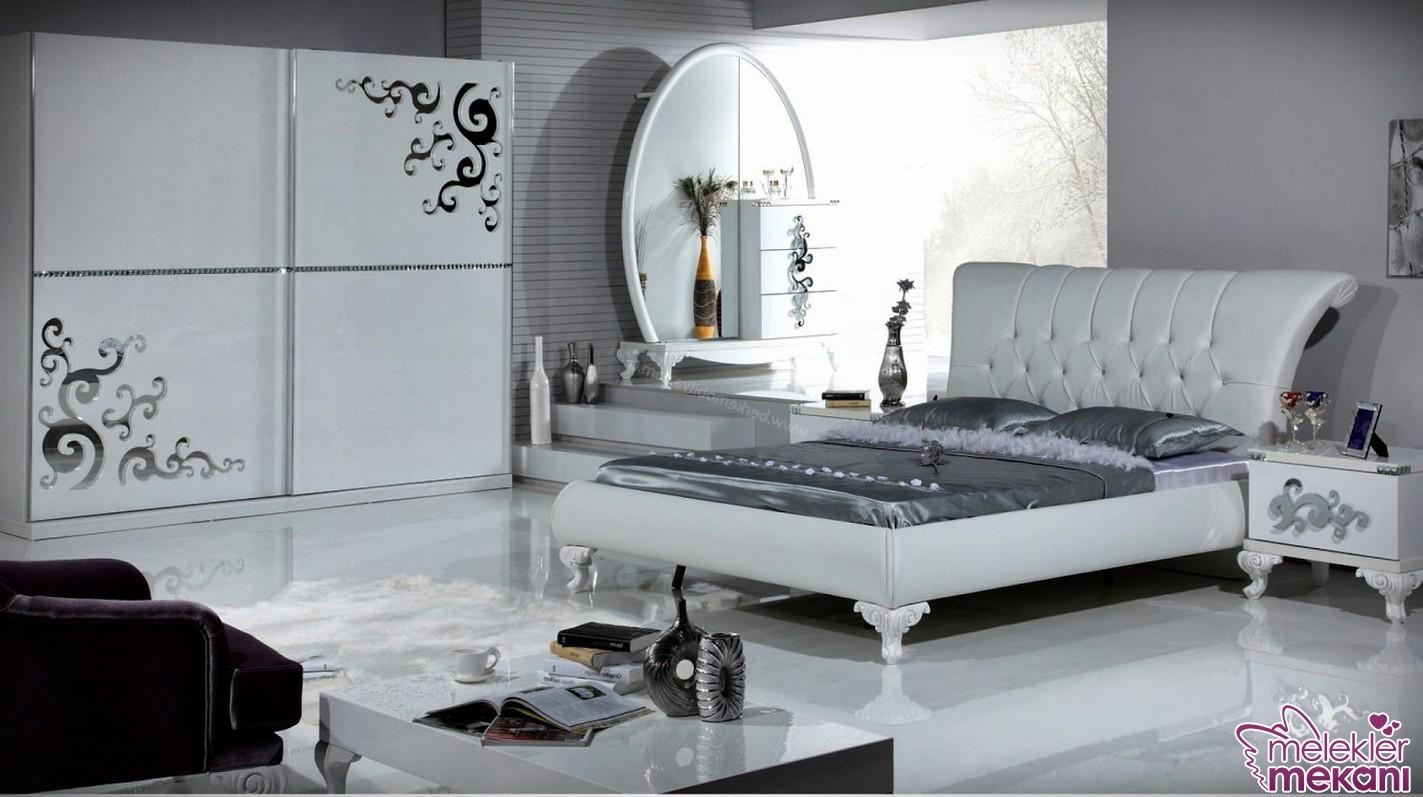 Kaliteli işçiliğin hakim olduğu modern yatak odası takımlarıile yatak odasnızı dekore edebilirsiniz