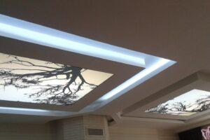 Manzaralı asma tavan modelleri ile farklı dekoratiflikler edinebilirsiniz.