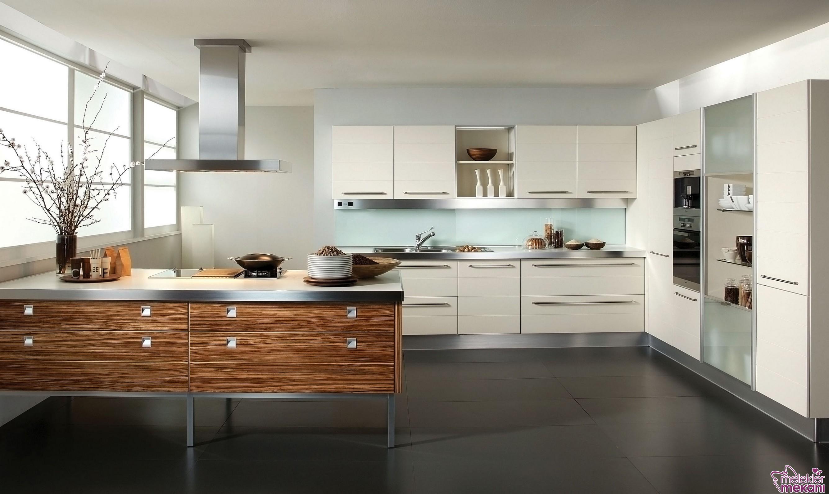 Mutfak dekorasyonlarınızda hazır mutfak modelleri tercihinde bulunabilirsiniz.