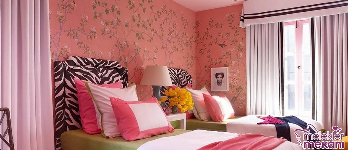 Sade görünümlü genç odası perdeleri ile beklediğiniz dekoratifliği elde edebilirsiniz.
