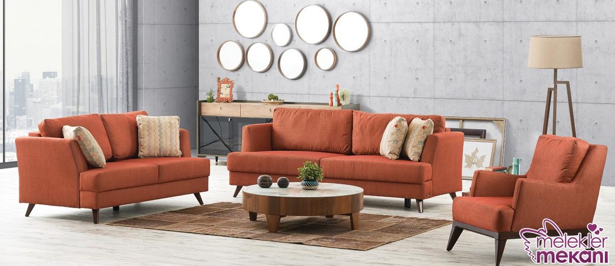 Salonlarınızı yeni sezon bir koltuk takımı ile daha güzel gösterebilirsiniz