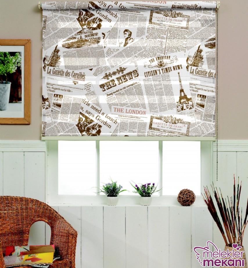 Yeni sezon stor perdelerle yeni perde dekorasyonu elde edebilirsiniz.