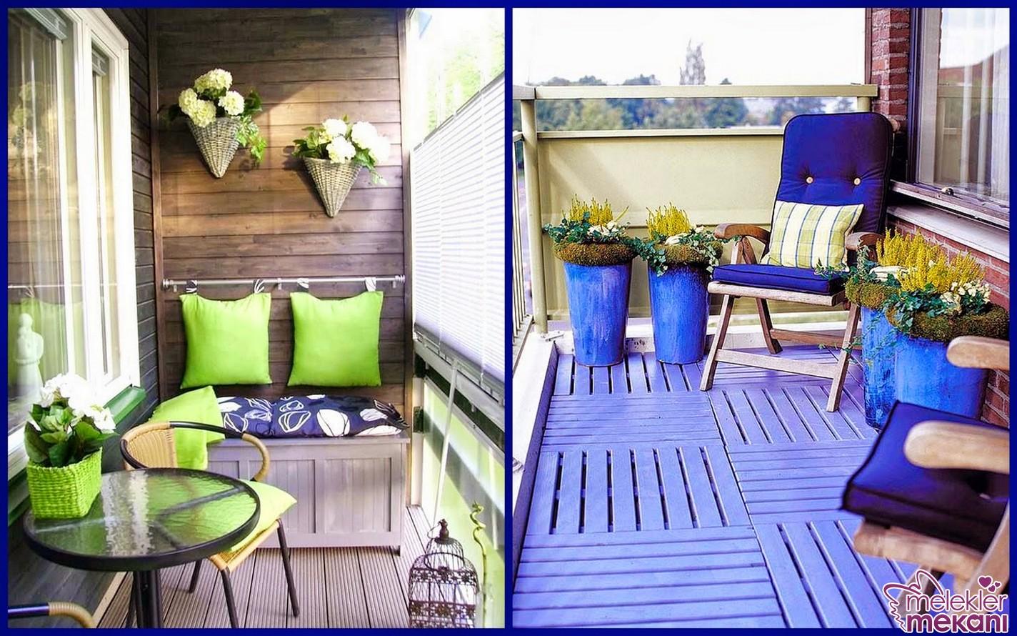 Yeni sezonda en renkli seçimleriniz ile balkon dekorasyonlarınızı canlı tutabilirsiniz.