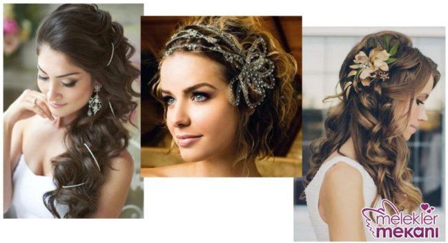yılbaşı gecesine özel farklı saç modelleri