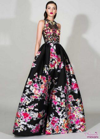 zuhair murat uzun abiye elbise modeli