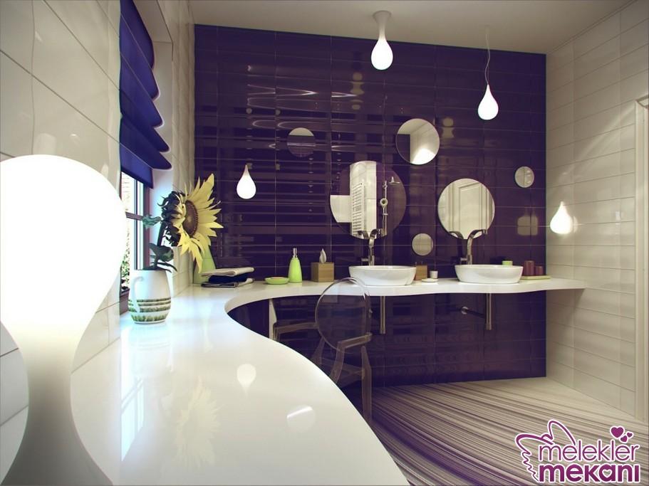 Harika fayans modelleri tercihiniz ile banyolarınız şenlenebilir.