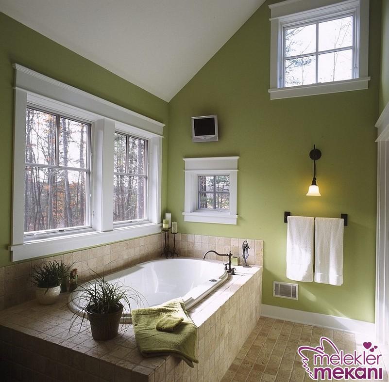 Yeni sezonda yeşil banyo dekorasyon fikirleri ile daha iç açıcı banyo dekorasyonları elde edebilirsiniz.