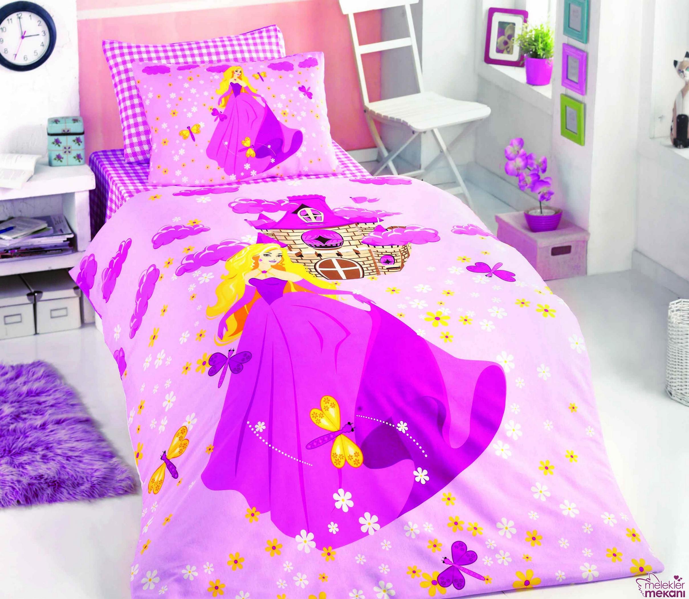 Lisanslı çocuk odası yatak örtüleri ile çocuğunuzu mutlu edebilirsiniz.