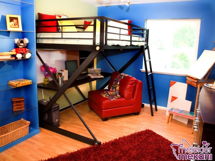 Yaratıcı ev dekorasyon fikirleri 2016 değişiminde genç odası dekorasyonlarına da dokunuşta bulunabilirsiniz.