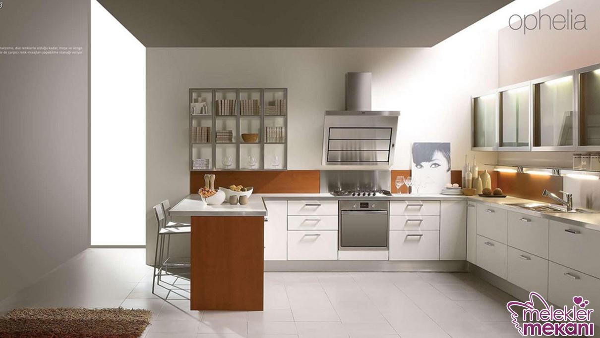 Akrilik mutfak modelleri tercihi ile mutfağınızda çizilmeyen ve kullanışlı alanlar yakalayabilirsiniz.