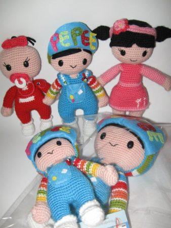 pepe ve arkadaşları örgü oyuncaklar