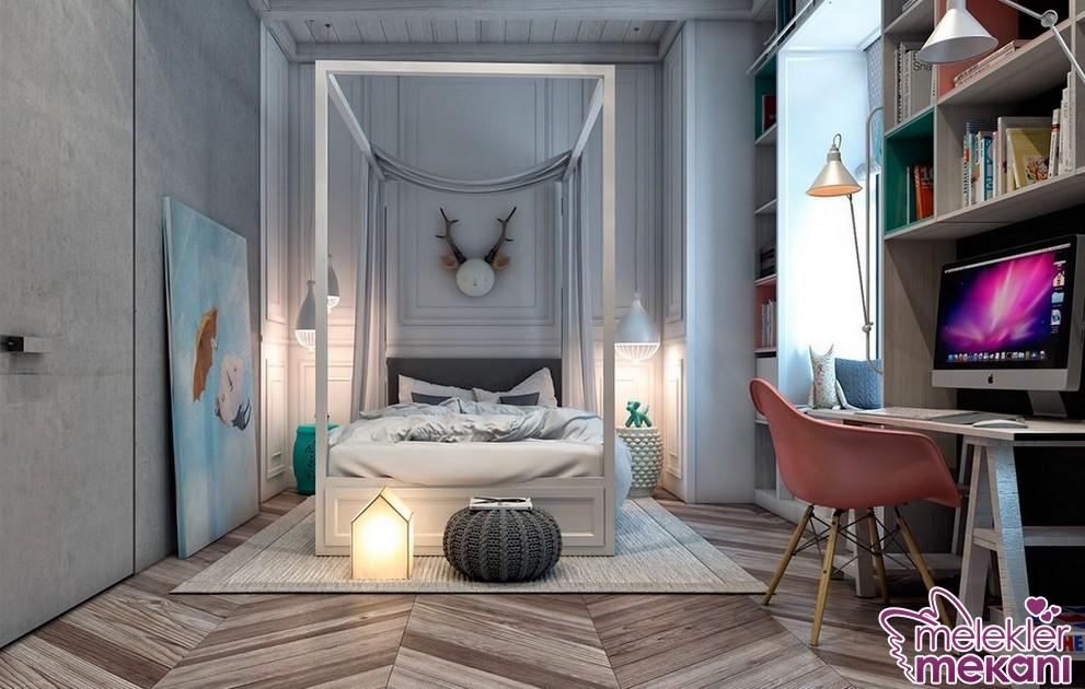 2016/2017 genç odaları ve dekorasyon modelleri seçiminizi yaparken sıra dışı görünümlerden de faydalanabilirsiniz.