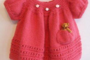 derya baykal hem kışlık hem yazlık bebek elbise modeli