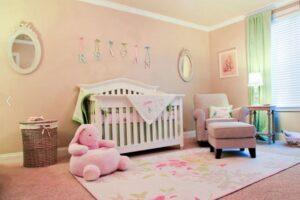 çocuk odası figürlü halı modeli