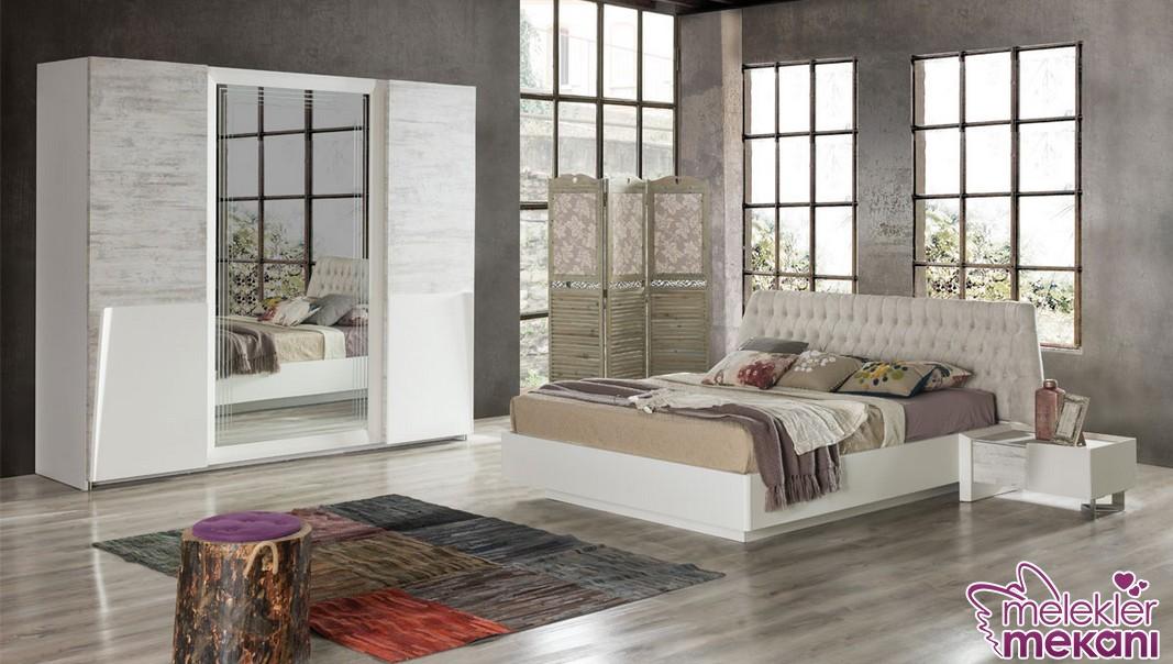 Nills twist yatak odası seçimi sizlere beyazın asilliğini yatak odanıza davet edebilme fırsatı sunabilecektir.