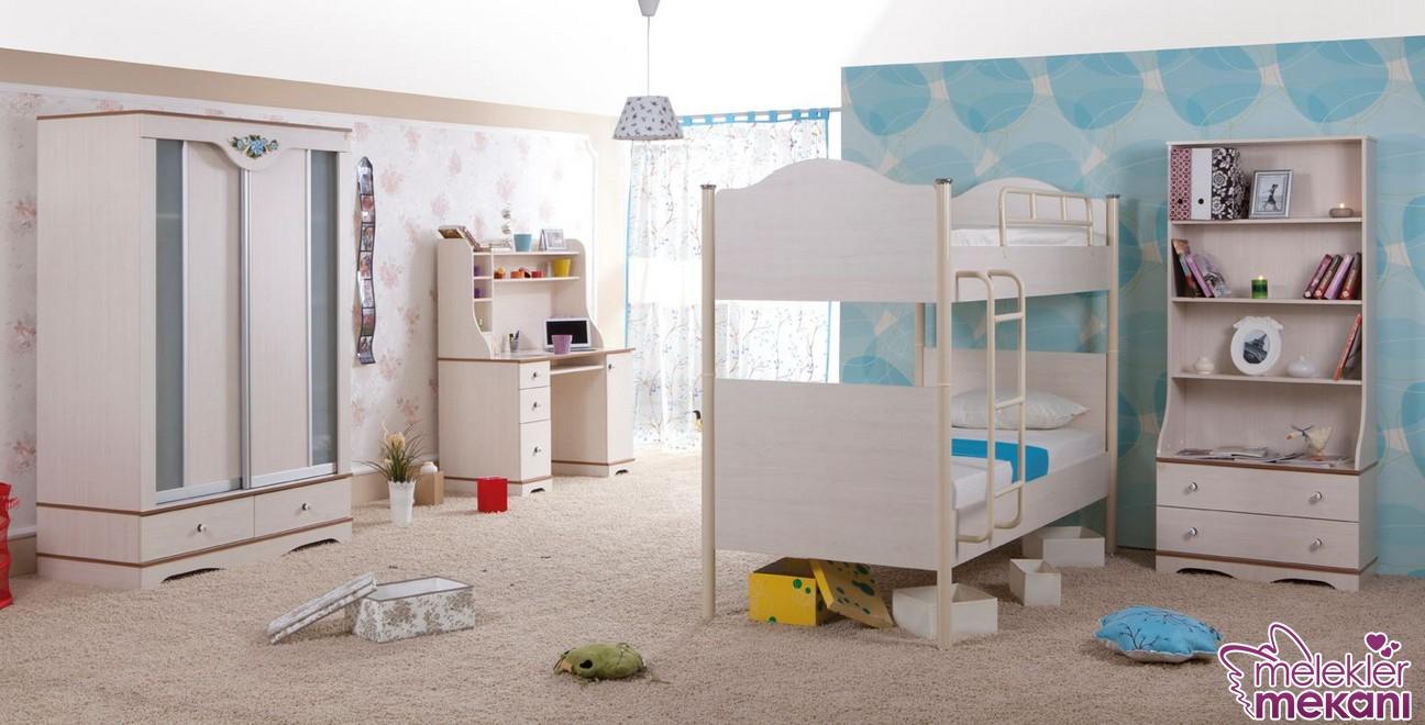 Ranzalı yatakların yer aldığı genç odası takımları alan zenginliği yakalamanızı sağlayabilecektir.